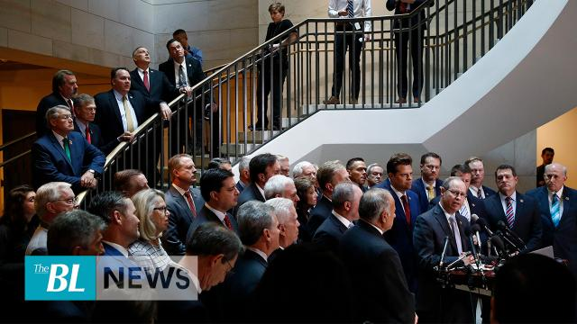Republicans storm the door of democrat-led impeachment proceedings, 'enough is enough'