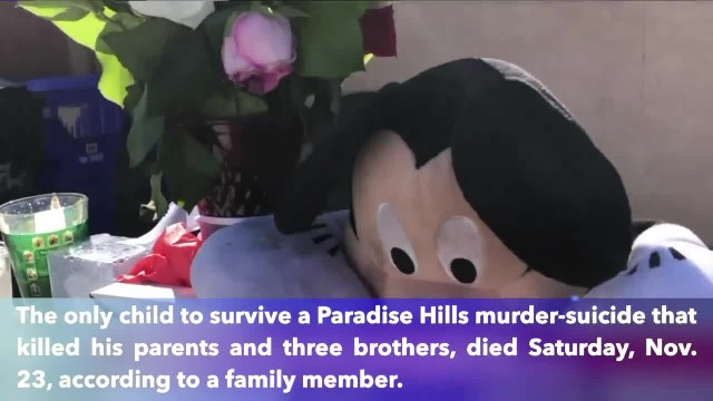 Fourth boy dies following murder-suicide in San Diego