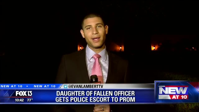 Teen Wears A Sparkling Dress To Prom, But Notice What The Cops Are Holding In Their Hands…