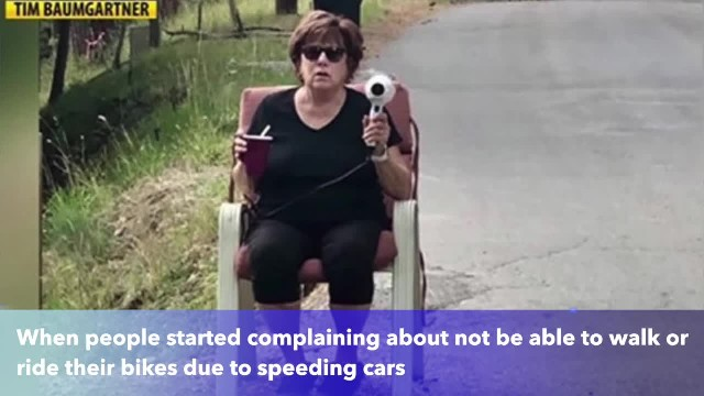Montana grandmother uses hair dryer as speed gun to slow speeding cars