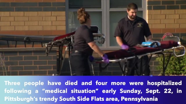 3 dead, 4 hospitalized in Pittsburgh after drug overdoses; all were wearing orange wristbands
