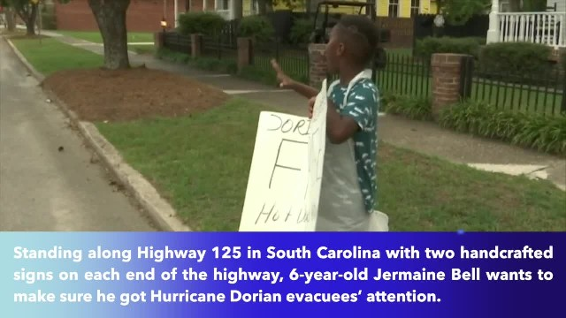 6-year-old South Carolina boy gives up Disney birthday trip to give foods for Dorian evacuees