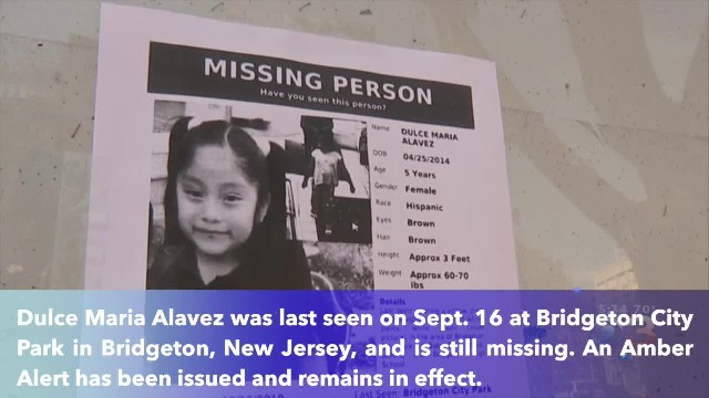 New Jersey 5-year-old girl missing for 2 weeks as manhunt continues