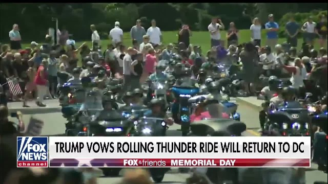 Trump vows Rolling Thunder ride will return to do