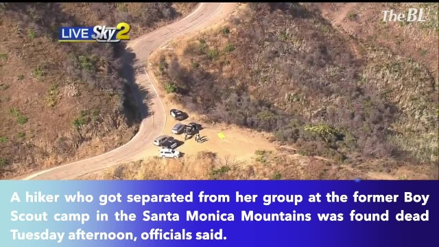 Hiker found dead in Santa Monica Mountains after getting separated from her group