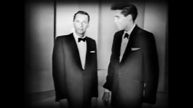 62 years ago, Sinatra & Presley teamed up for an unearthed TV duet that still sends chills down ever