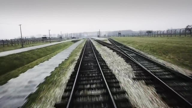 A drone flies over Auschwitz 70 years after the holocaust, and the footage is breaking our hearts