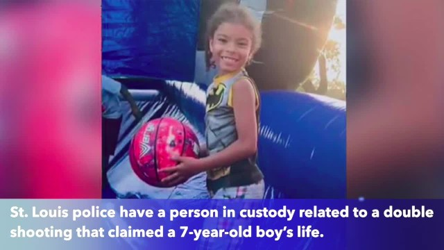 Person in custody in investigation of 7-year-old's shooting death in St. Louis