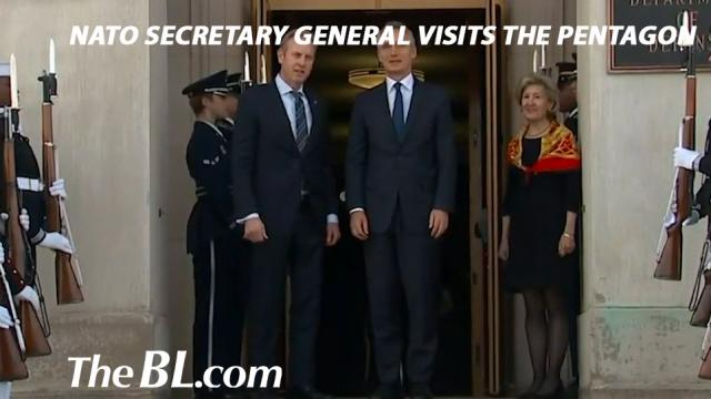 The BL News NATO Secretary General visits The Pentagon