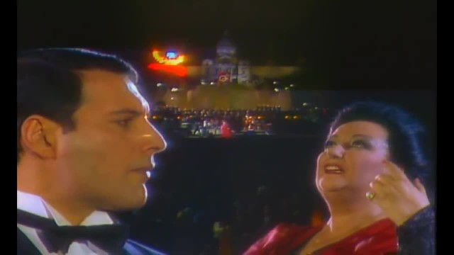 Here's Rare Footage Of Freddie Mercury Singing A Duet With An Opera Singer