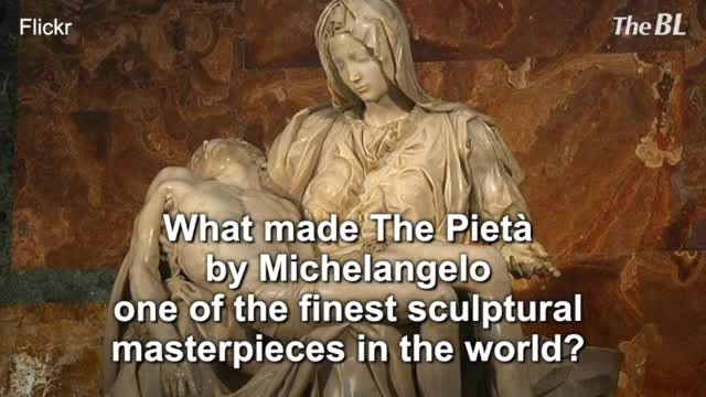 What made The Pietà by Michelangelo one of the finest sculptural