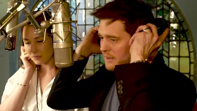 "Michael Buble Finds His ""Voice Crush"" And Their Haunting Duet Is Pure Magic"