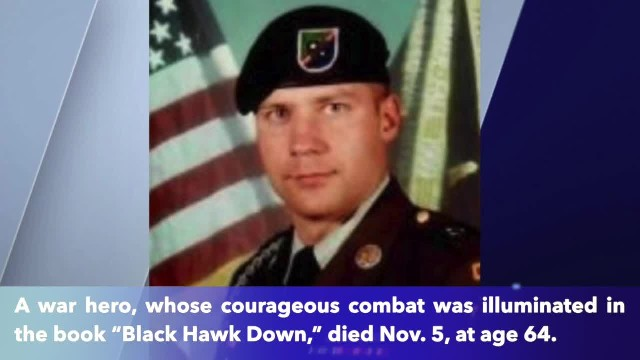 'Black Hawk Down' hero passes away at 64