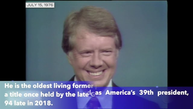 Jimmy Carter, who served as America's 39th president, is 95 today