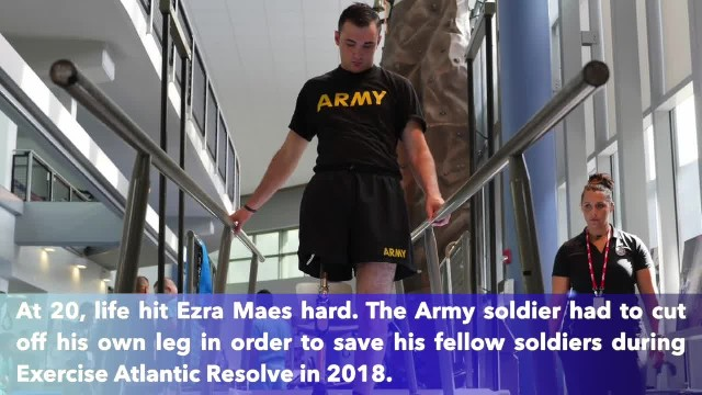 Army soldier amputated his own leg to save fellow troops after tank crash