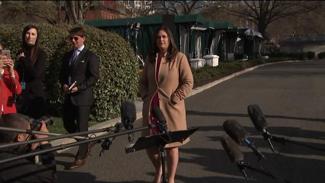 "Sarah Sanders: "" Democrats and liberal media should be absolutely embarrassed by their behavior."""