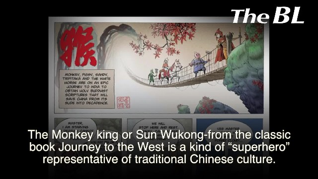 The Monkey king – The super hero very distinct from the others