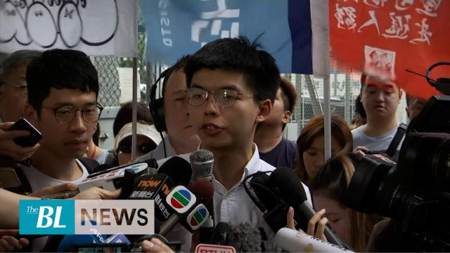 Freed Hong Kong activist asks HK's leader to resign