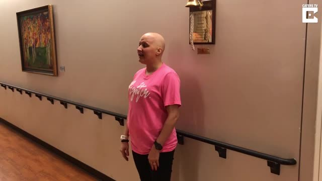 Breast Cancer Patient Sings Amazing Grace On Last Day Of Chemotherapy - Rumble