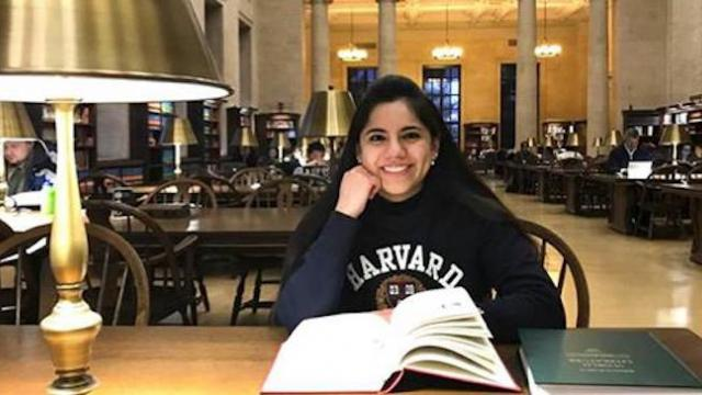Mexican girl who became world's youngest psychologist at 13 enters Harvard at 17