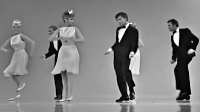 The dance move from the 60's nobody remembers, but has everyone laughing.