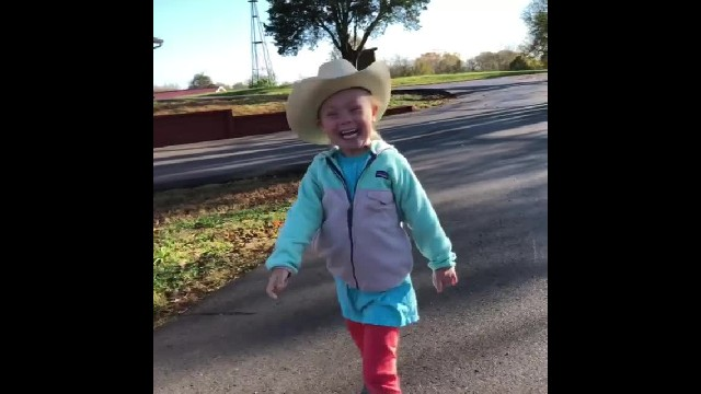Rory Feek's Precious Little One Squeals With Excitement Over Her Favorite Thing