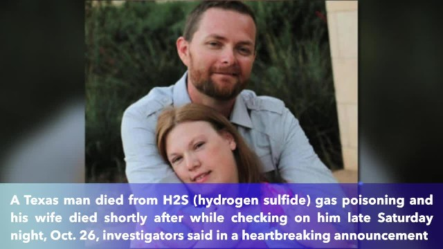 Texas man, wife die from H2S gas poisoning