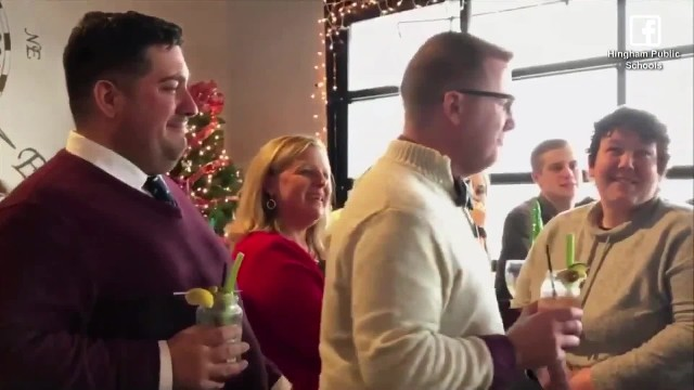 Choir teacher hides wedding from students, fearing disapproval. But then they show up