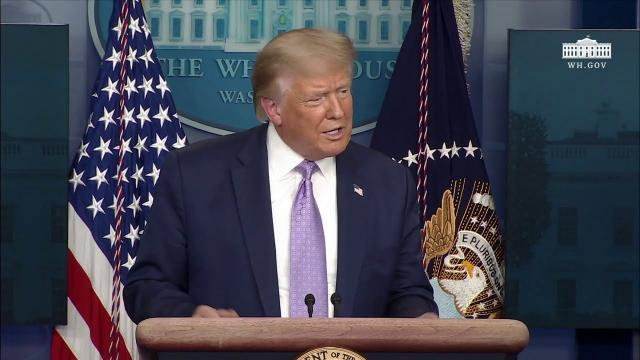08/13/20 President Trump holds a news conference