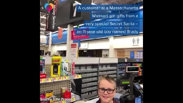 Walmart 'Secret Santa' That Paid Off Layaway Items Was Actually an 11-Year-Old Boy