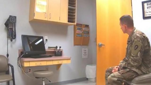Doctor thought soldier husband was deployed overseas only to discover he's her newest patient