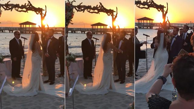Bride Asks Autistic Brother To Sing — His Sweet Disney Song Has Everyone In Tears!