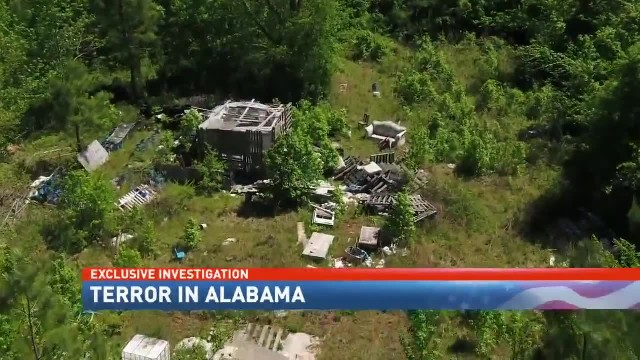 PART 4 - Terror in Alabama Walking you through an accused terrorist's compound - NBC 15 WPMI