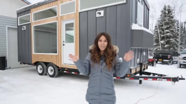 Woman Builds Tiny House Trailer And What's Inside Is Incredibly Clever