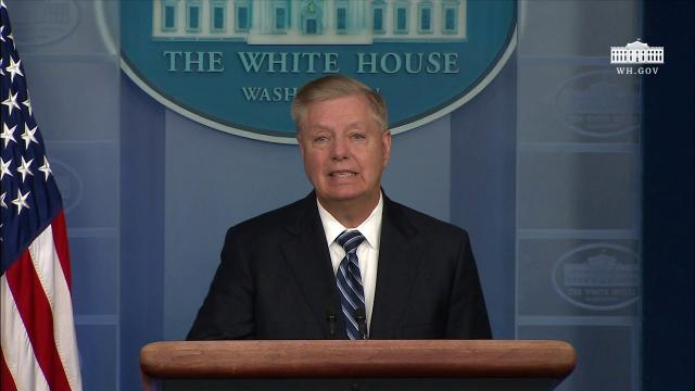 Press Briefing with Senator Lindsey Graham