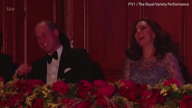Internet Laughing Along With Duchess Kate At Hubby's Moves
