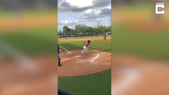 8-Yr-Old With 1 Arm Has Little League Crowd Cheering After Incredible Grand Slam