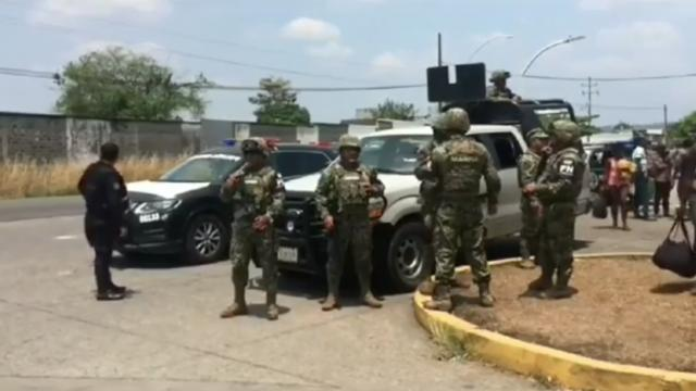 Migrants Are Stopped At Mexican _Border In Chiapas