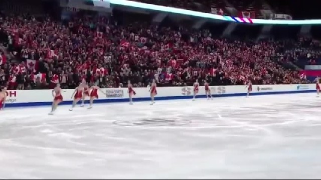 Watch These Ice Dancers From Canada Perform An Incredible Choreography