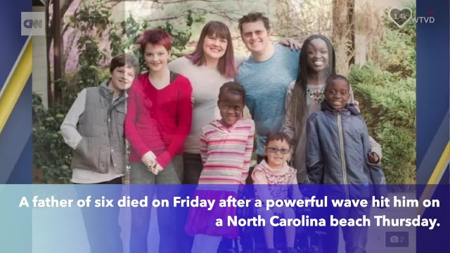 North Carolina man dies after wave breaks his neck at beach