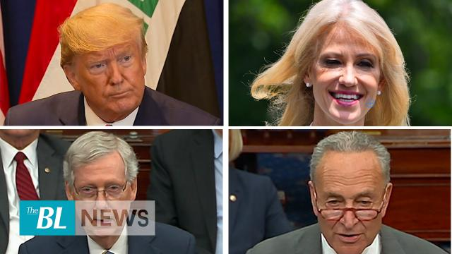 Senate approves release of whistleblower complaint – Conway says Pelosi under far-left wing pressure