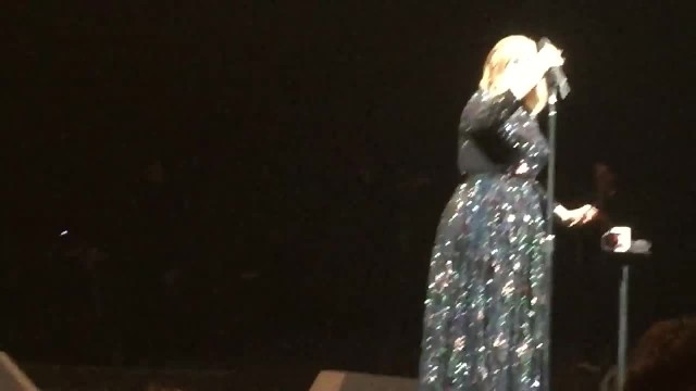Adele Invites Two Girls On Stage. When They Reveal Where They're From, Her Heart Stops