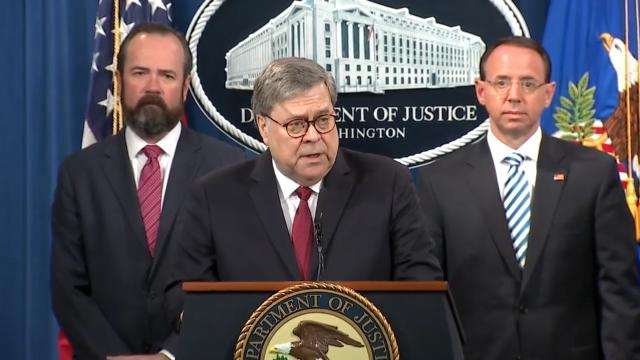 Barr Puts Nail in 'Collusion' Coffin