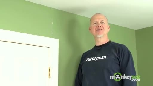 Handy man shows how to repair cracks in your wall. This is really nifty