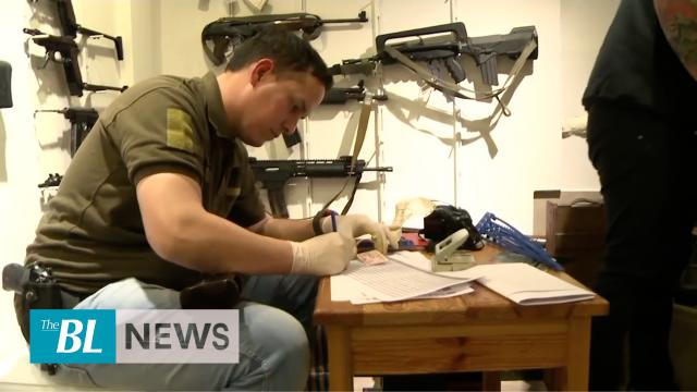 Argentine authorities make huge seizure of firearms