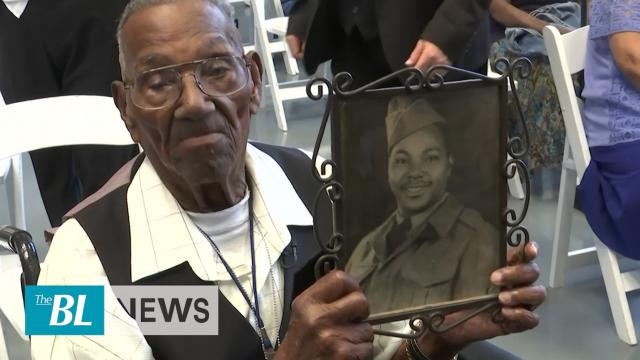 Oldest living WW II Vet celebrates 110 years