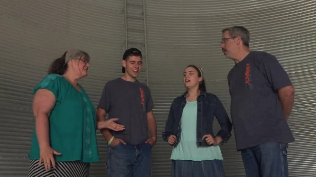 Family Of Farmers Sings Hymn Inside An Empty Silo, And It Sounds Incredible