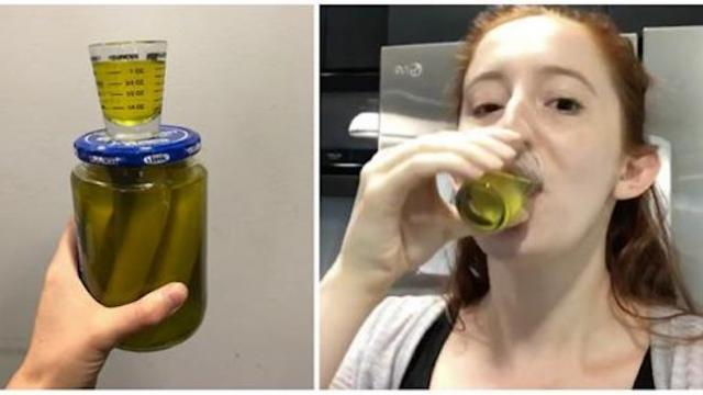 I drank a shot of pickle juice every single day At the end of