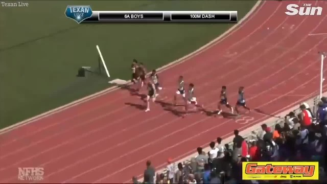 18-year-old senior student runs 100m just 0.4 seconds slower than Usain Bolt