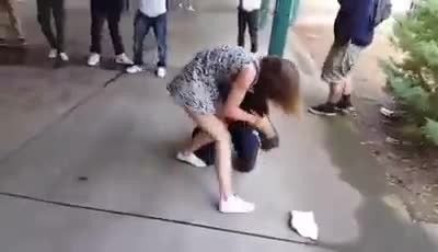 Boy Decided To Bully A Girl In The Middle Of School, Had No Idea She's Trained In Self-Defense